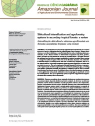 Thumbnail de Silvicultural intensification and agroforestry systems in secondary tropical forests: a review.