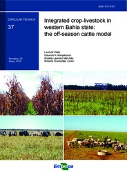 Thumbnail de Integrated crop-livestock in western Bahia state: the off-season cattle model.