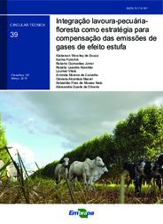 Integração lavoura-pecuária-floresta como estratégia para compensação das emissões de gases de efeito estufa.