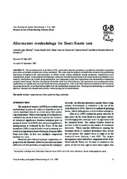 Thumbnail de Alternative methodology for Scott-Knott test.