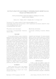 ec61c523b4f07 Estrutura populacional e variabilidade genética da raça caprina Marota.