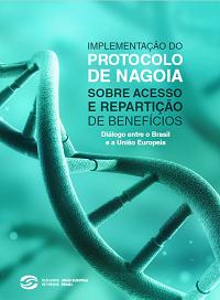 Capa do livro Implementação do Protocolo de Nagoia