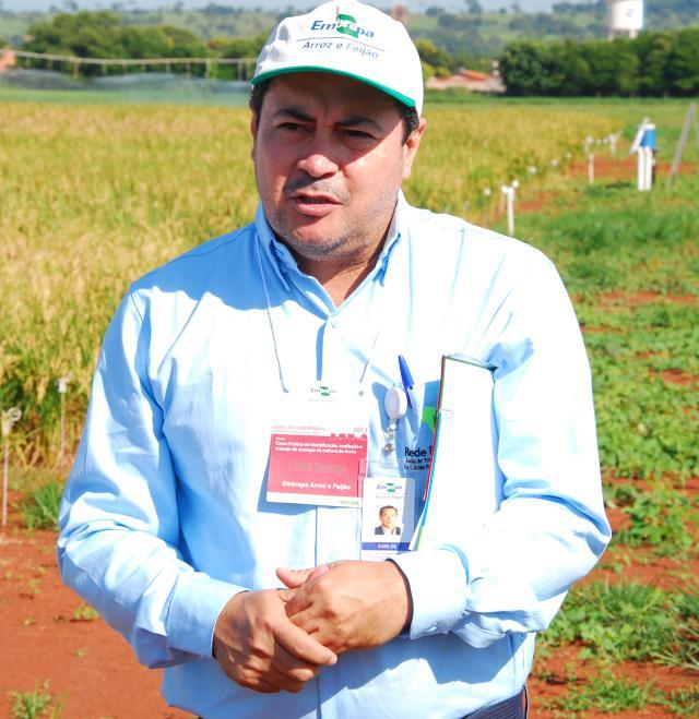 Sebastião Araújo - Carlos Martins Santiago - Núcleo Regional da Embrapa Arroz e Feijão na Embrapa Cocais