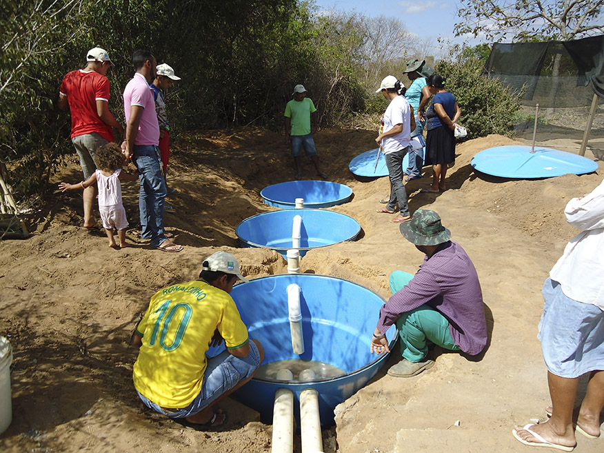 Renato Marmo - Dia de campo na comunidade Pau dos Doias, em Exu (PE)