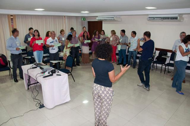 Saulo Coelho - Dinâmicas de grupo foram a base da metodologia da oficina