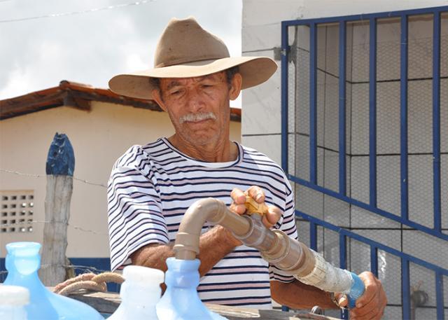 Água potável do Programa Água Doce -Foto: Fernanda Birolo