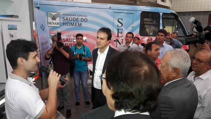 Adilson Nóbrega - Serviço foi apresentado ao governador do Ceará e outras autoridades