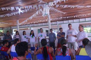 NCO / Embrapa Amapá - Seminario na Ilha das Cinzas