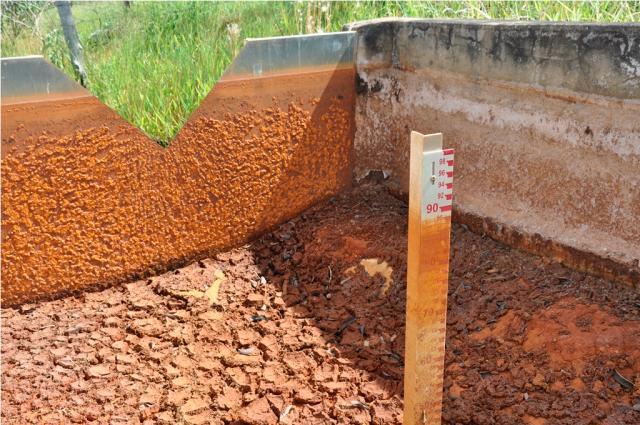 Juliana Caldas - Ponto de medição na Bacia Experimental do Rio Buriti Vermelho, no Distrito Federal