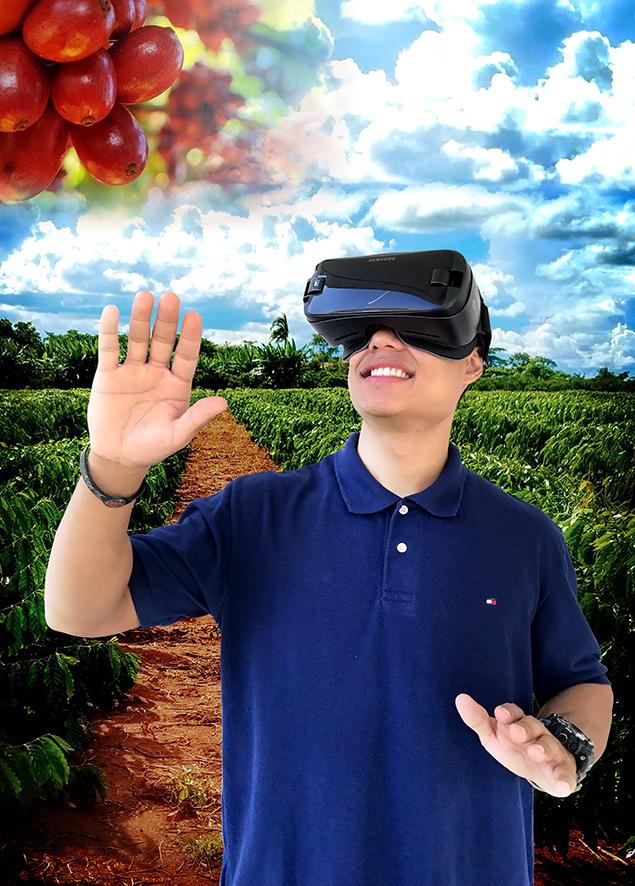 Rafael Rocha - Uma viagem no mundo virtual do café