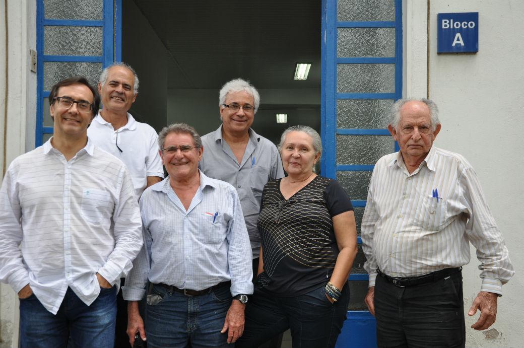 Carlos Dias - Membros do Comitê Executivo do Sistema Brasileiro de Classificação de Solos na Embrapa Solos