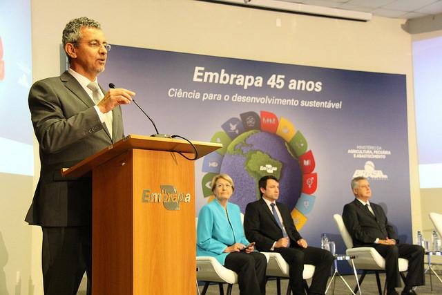 Kátia Marsicano - Presidente fala sobre o futuro nos 45 anos da Embrapa
