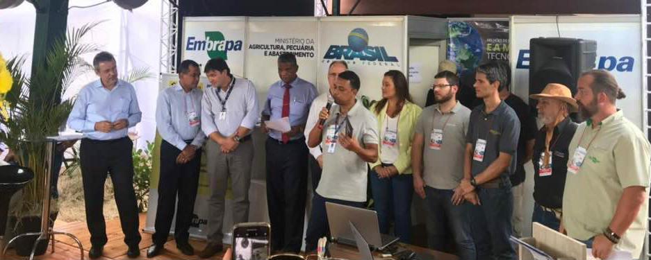 Embrapa - André Marcelo apresenta o SpecSolo na Agrishow 2018