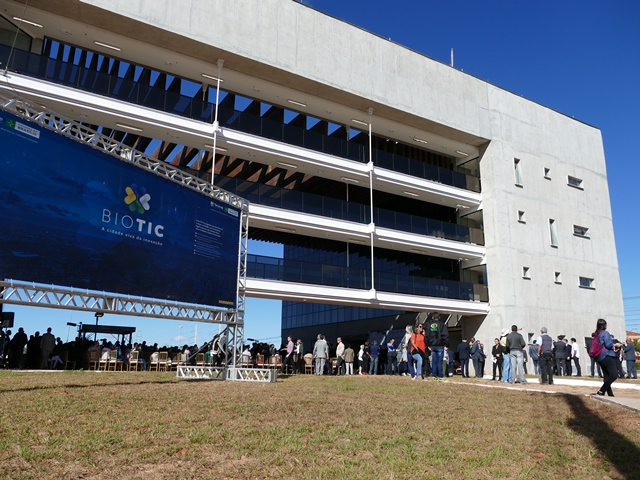 Gustavo Porpino - A Embrapa ocupará área de 400 m2 no segundo andar do edifício de governança do BioTIC.