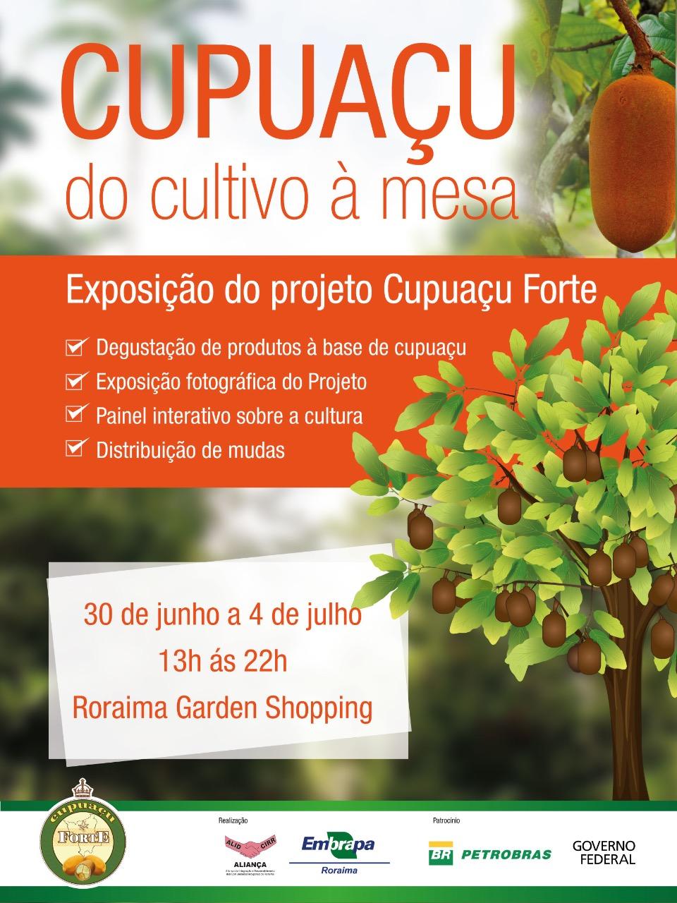 Arquivo Embrapa Roraima - Exposição trará programação interativa, com destaque para as ações do Projeto Cupuaçu Forte