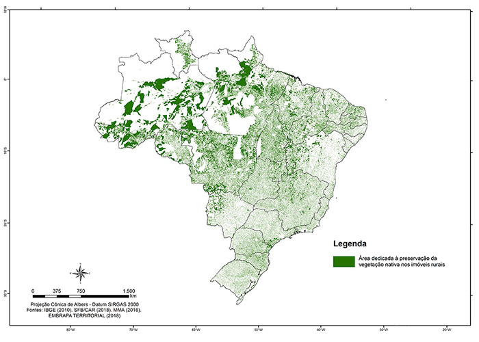 CAR 2018 Map - Divulgação -
