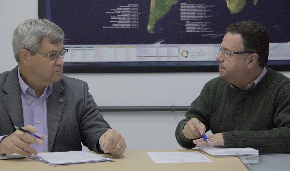 Thiago Cesar - Rice, à esquerda, com Martin Neto, vai abordar, entre outros aspectos, a conexão do solo com a saúde humana.