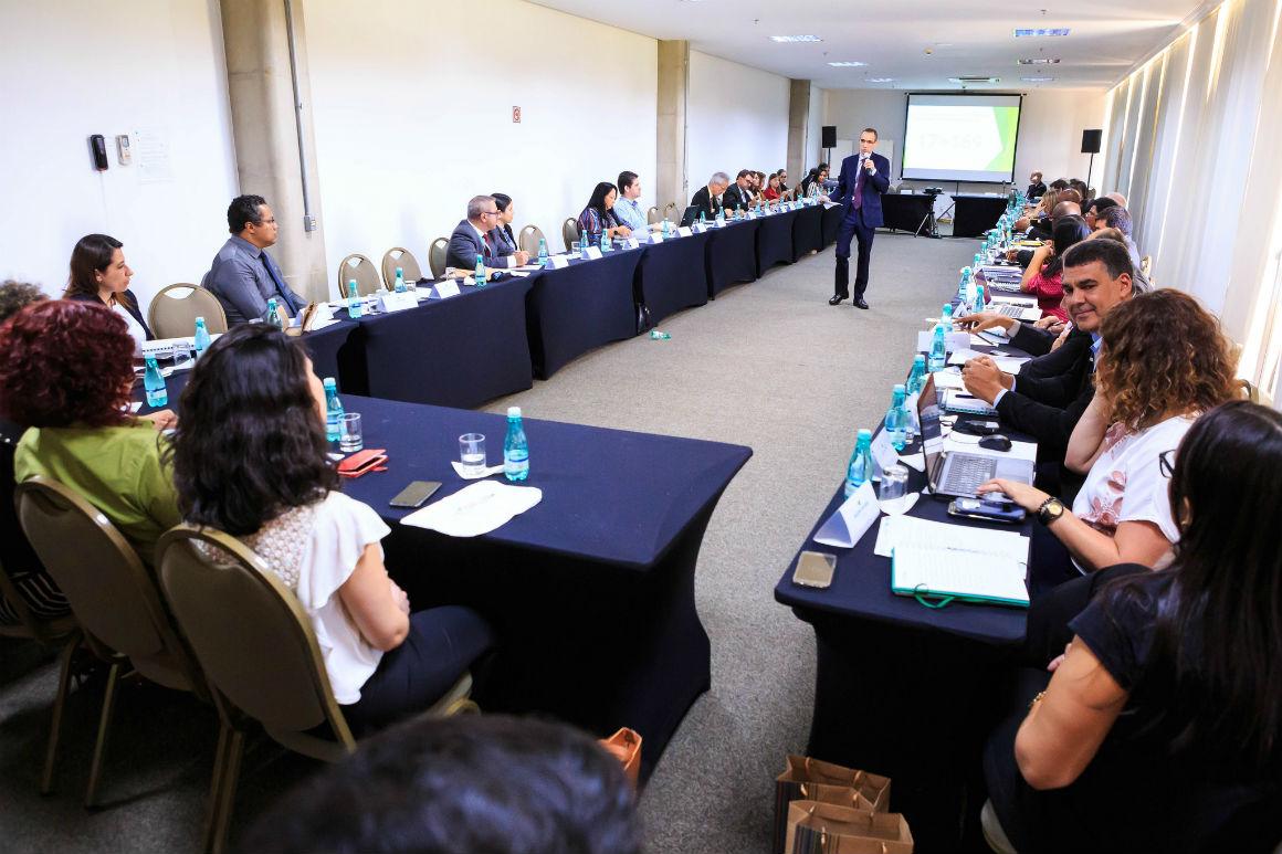 Embrapa - Representantes de vários países estiveram em Brasília