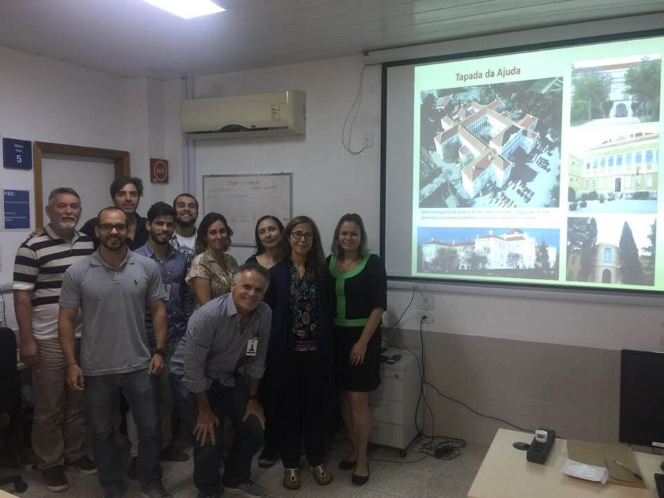 Equipe reunida durante a apresentação de Ana Cabral - Foto: Carlos Dias