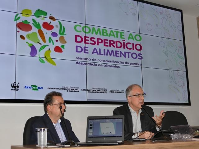 Gustavo Porpino - Combate ao desperdício: pesquisadores Marcos David e Antonio Gomes debatem Boas Práticas