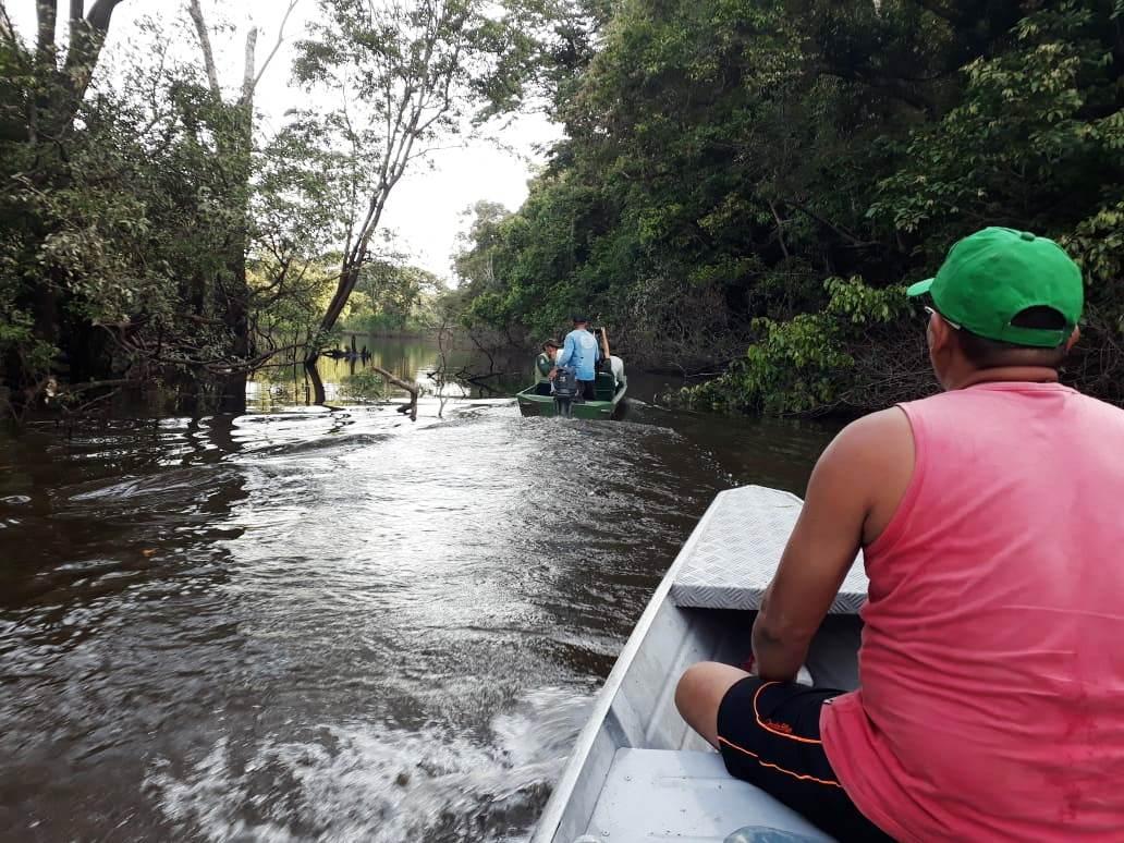 Sandro Loris - Expedição percorreu o baixo do Rio Branco, em Roraima, coletando informações sobre a pesca artesanal no Estado