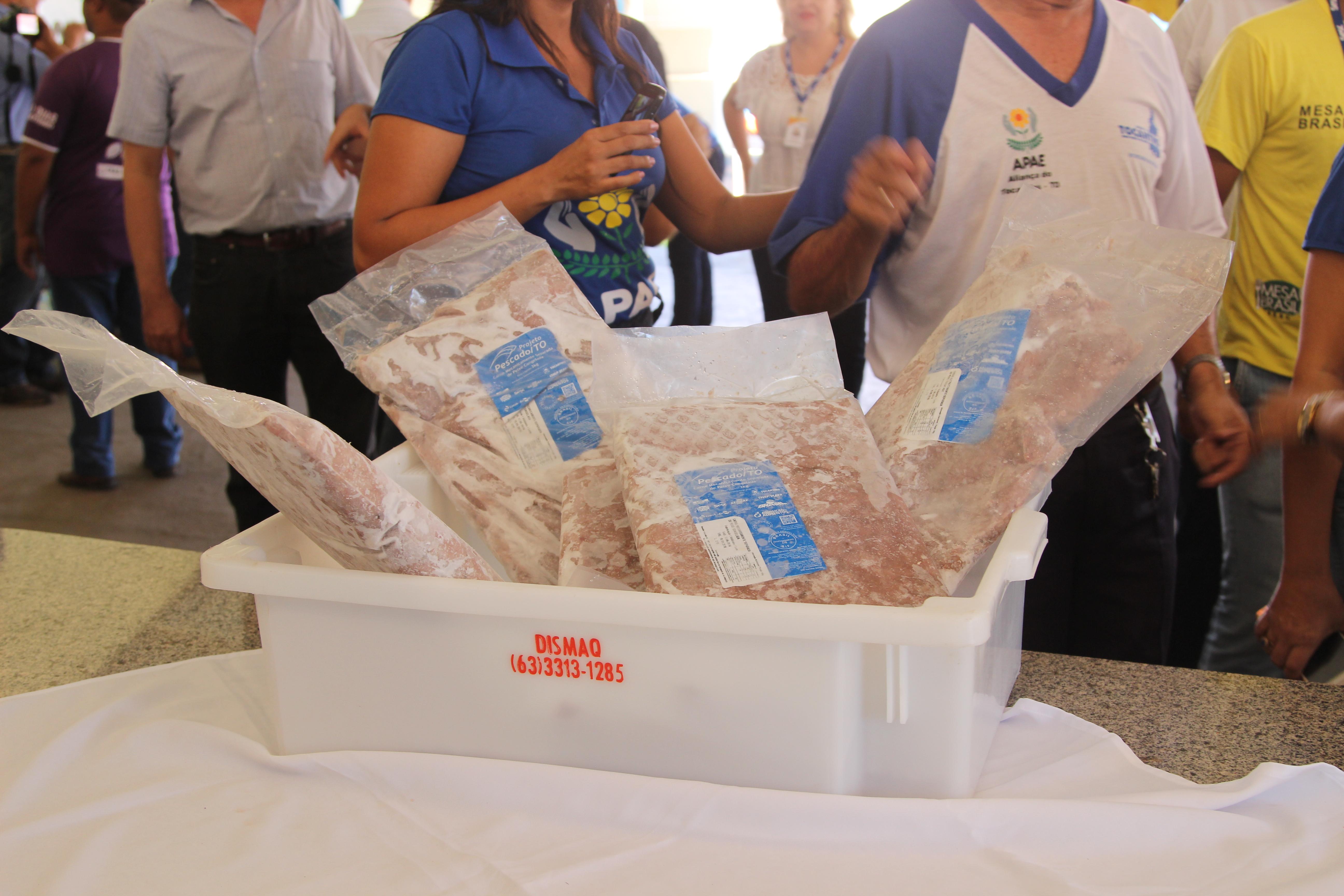Clenio Araujo - A carne do peixe chegou às escolas sem espinhas