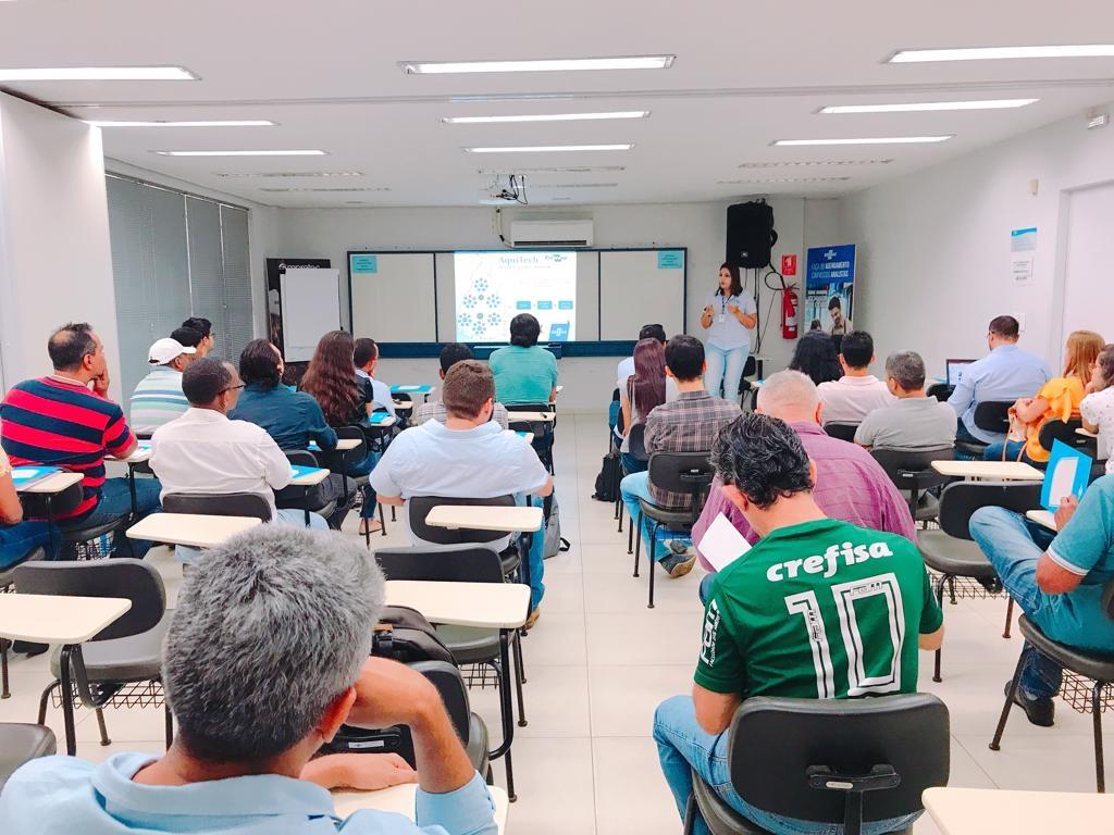 Raimundo Nonato - Mais de 30 técnicos participaram do curso em Araguaína