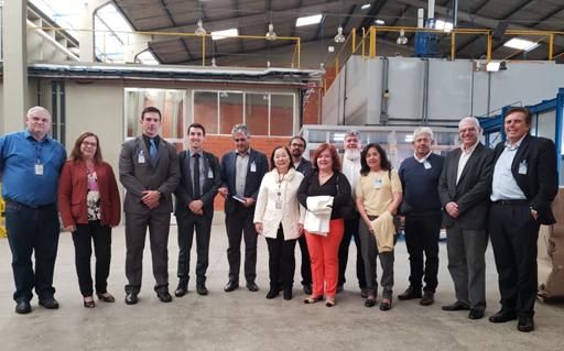 Juan Victor dos Santos – IPEN/CNEN-SP - Comitiva visitou o Irradiador Multipropósito de Cobalto-60, tecnologia nacional projetada por pesquisadores e engenheiros do IPEN