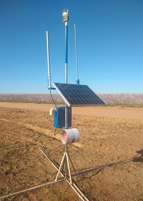 Marcos Visoli - Equipamentos captam dados do solo, enviam para processamento e acionam irrigadores apenas com a quantidade necessária de água.