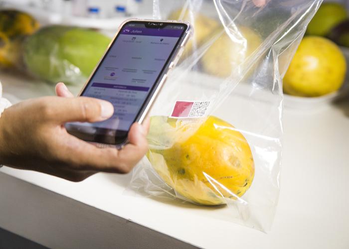 Gabrielle Araújo - Aplicativo informa o estado do produto e a data em que ele estará maduro.