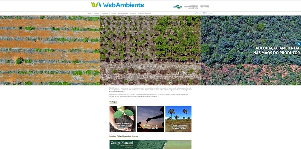 - Página inicial do WebAmbiente